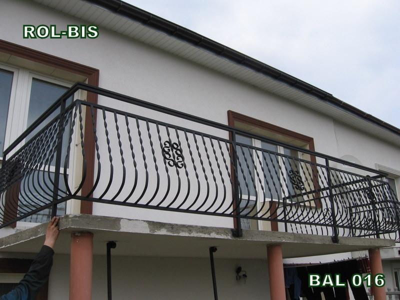 Balustrady metalowe zewnętrzne